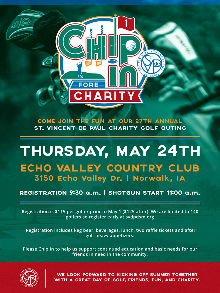 Chip in for Charity Image